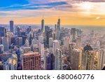 chicago  illinois   november 12 ... | Shutterstock . vector #680060776