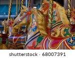 Fairground Carousel Horse Rides