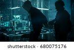 fully armed special... | Shutterstock . vector #680075176