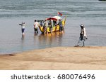 cambodia   april 2017  ... | Shutterstock . vector #680076496