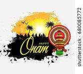 onam festival   Shutterstock .eps vector #680085772