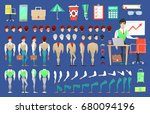 businessman character creation... | Shutterstock .eps vector #680094196