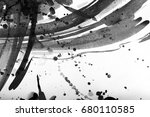 black and white abstract... | Shutterstock . vector #680110585
