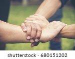 success partnership concept. ... | Shutterstock . vector #680151202