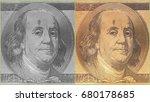 portrait of u.s. president... | Shutterstock . vector #680178685