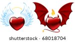 good and evil hearts ...