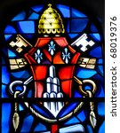 Stain Glass Window At Cathedra...