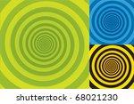 spiral background texture in... | Shutterstock .eps vector #68021230