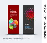 abstract business vector set of ... | Shutterstock .eps vector #680226556