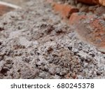 cemented brick | Shutterstock . vector #680245378