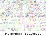 modern geometrical square ... | Shutterstock .eps vector #680285386