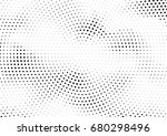 abstract halftone dotted... | Shutterstock .eps vector #680298496