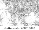 black and white grunge. texture ... | Shutterstock . vector #680310862