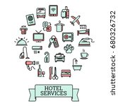 vector hotel services related...