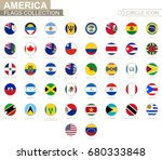 alphabetically sorted circle... | Shutterstock .eps vector #680333848