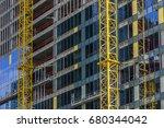building under construction... | Shutterstock . vector #680344042