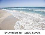 ocean sea background nature ... | Shutterstock . vector #680356906