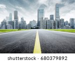 dynamic ambiguous highway... | Shutterstock . vector #680379892