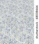 city map  raster  | Shutterstock . vector #68038666