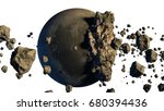 3d Rendering Of Asteroids Next...
