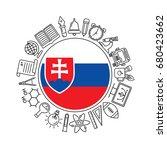 vector slovakia school...   Shutterstock .eps vector #680423662