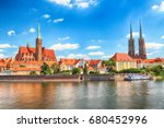 wroclaw  poland   july 18  2017 ... | Shutterstock . vector #680452996