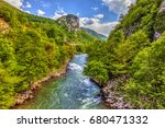 river lim from the bridge  in... | Shutterstock . vector #680471332