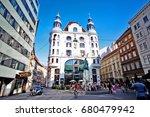 vienna  wien   austria ... | Shutterstock . vector #680479942