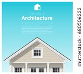 elements of architecture... | Shutterstock .eps vector #680506222