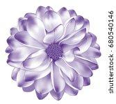 mona lisa flower  pastel purple ...   Shutterstock .eps vector #680540146