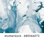 blue abstract hand painted... | Shutterstock . vector #680566072