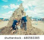 Parksville Beach Bc Canada Jul...