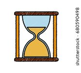 hourglass icon image | Shutterstock .eps vector #680590498