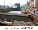 panama   october 6. in july...   Shutterstock . vector #68059258