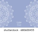 invitation or card template...   Shutterstock .eps vector #680600455