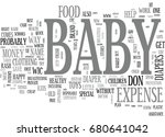 baby expense when money is... | Shutterstock .eps vector #680641042