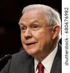 us. attorney general jeff... | Shutterstock . vector #680676982