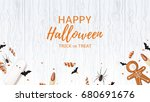 beautiful web banner with... | Shutterstock .eps vector #680691676