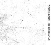 grunge black white. abstract... | Shutterstock . vector #680696032