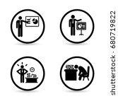 business icons. business... | Shutterstock .eps vector #680719822