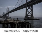 bay bridge | Shutterstock . vector #680724688