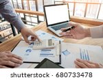 administrator business man... | Shutterstock . vector #680733478