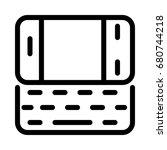 mobile keypad icon