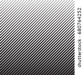 abstract black diagonal striped ... | Shutterstock .eps vector #680764252