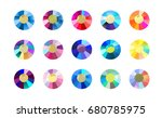 vector collection of shine... | Shutterstock .eps vector #680785975