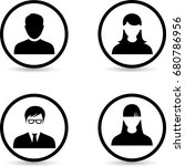 People Icons. Office People...