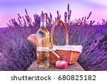 a photo of a bottle of white... | Shutterstock . vector #680825182