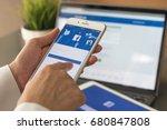 bangkok  thailand   july 20 ... | Shutterstock . vector #680847808