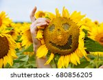 Sunflower With A Smile....