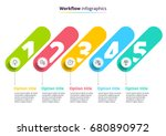business process chart... | Shutterstock .eps vector #680890972